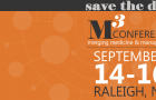 Registration Now OPEN for the M3 Conference, Sept. 14-16 in Raleigh