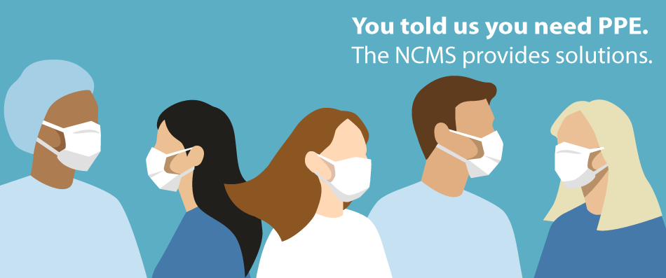 NCMS Offers Access to PPE